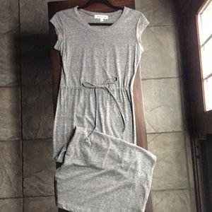 Jersey-knit long dress